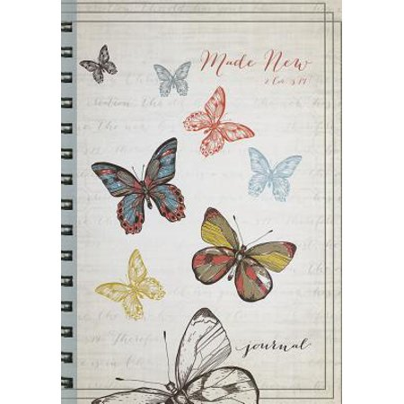 Butterflies: Made New Large Journal : 2 Cor. 5:17](Journals For Sale)