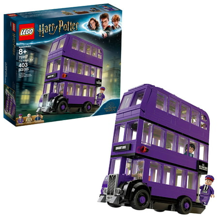 LEGO Harry Potter The Knight Bus 75957 Triple Decker Toy Bus (403 Pieces)