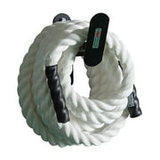 Fitness Solid Steel Rope Hanger in Black