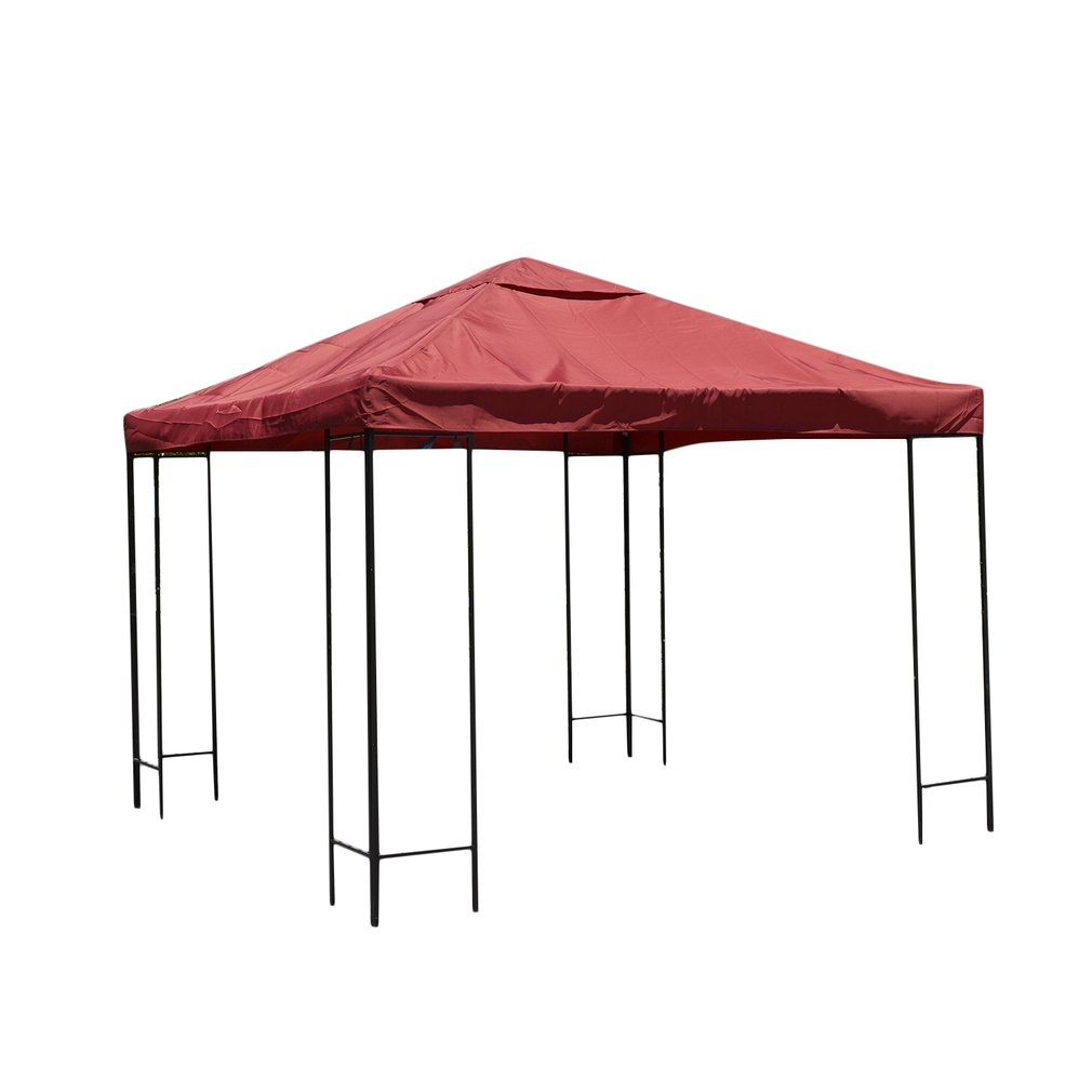 10x10 Feet One-Tier Waterproof Gazebo Top Cover Patio Canopy Replacement  sc 1 st  Walmart : 10x10 canopy replacement top - memphite.com