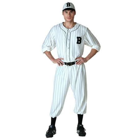 Baseball Player Halloween Outfit (Plus Size Vintage Baseball)