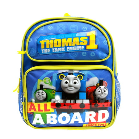 Small Backpack - Thomas The Tank Engine - All a Board Blue 12
