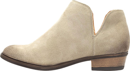 Women's Crevo Leighton-Perf Ankle 8 Boot Beige Suede 8 Ankle M e7cd4b