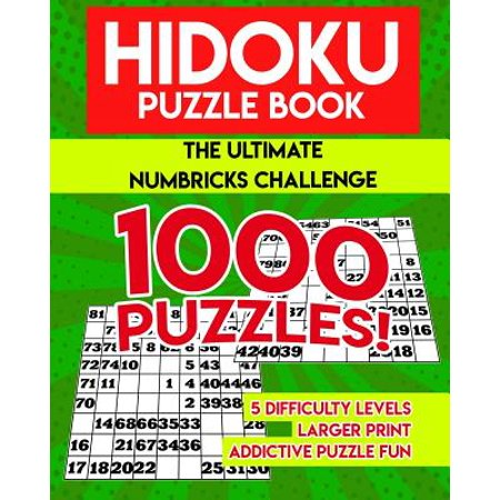 Hidoku Puzzle Book: The Ultimate Hidoku Challenge - 1000 Puzzles