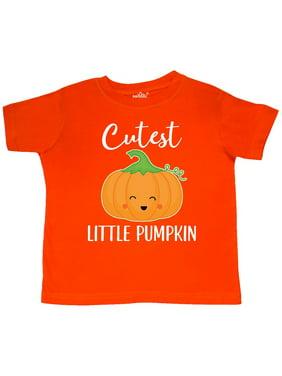 Halloween Cutest Little Pumpkin Toddler T-Shirt