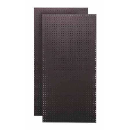TRITON PRODUCTS TPB-2BK Pegboards,Black,48 in. H,24 in. W,PK2 G3719409