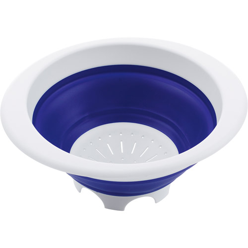 Progressive International 3-qt. Collapsible Colander, Blue