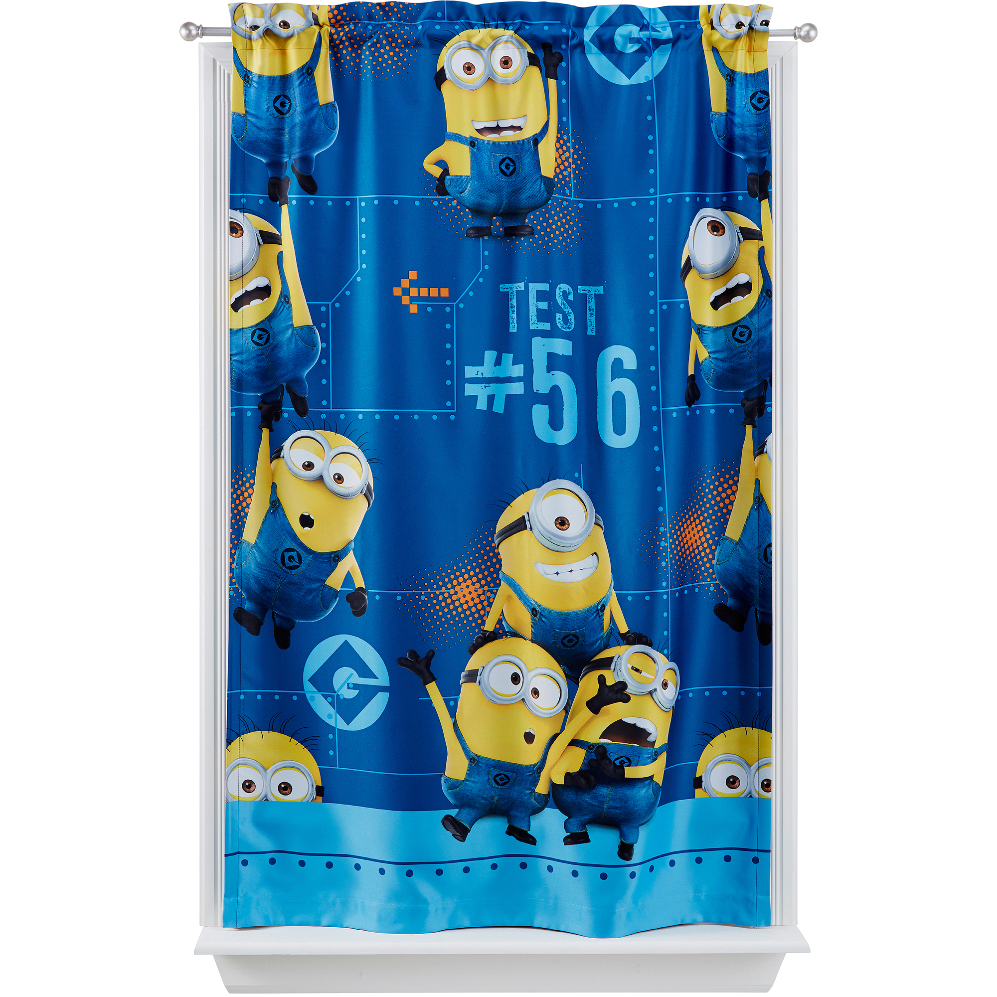 "Universal Minions ""Mishap"" Room Darkening Boys Bedroom Curtain Panel"