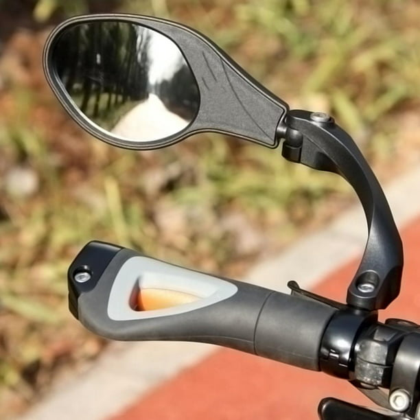YLSHRF Back View Mirror, Bicycle Handlebar Rearview Mirror,Bicycle Handlebar Review Rear Back View 360 Rotation Mirror for Mountain Road Bikes