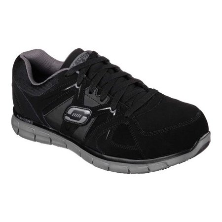 5f039e64f08f66 Skechers - Men s Skechers Work Relaxed Fit Synergy Ekron Alloy Toe Lace Up  - Walmart.com