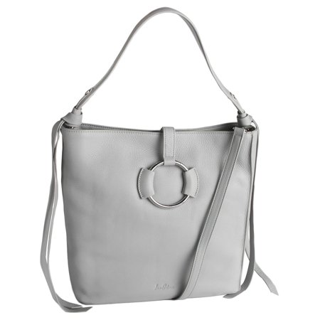 - Womens Jaelyn Leather Convertible Hobo Handbag