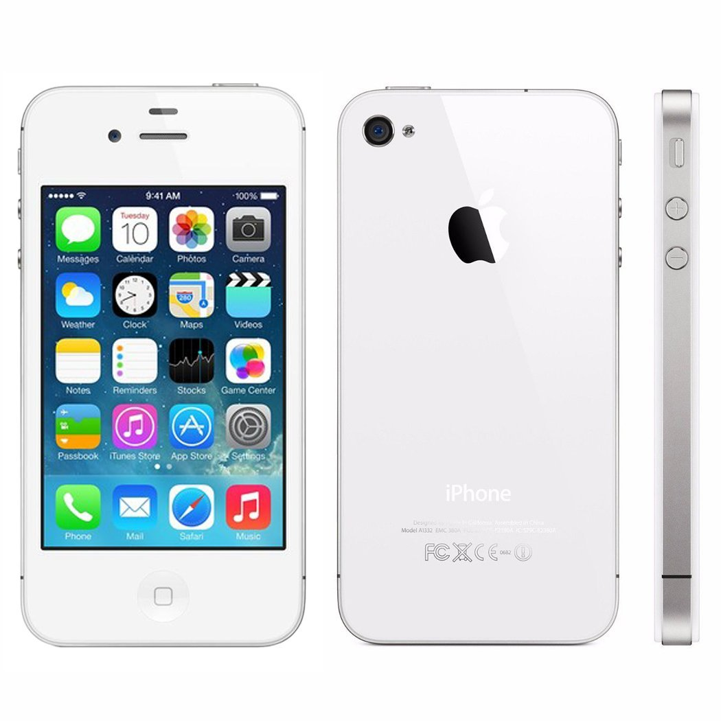 Refurbished Apple iPhone 4s 16GB, White - Unlocked GSM