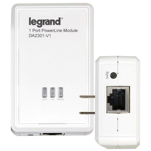 Legrand 1 Port Powerline Adapter