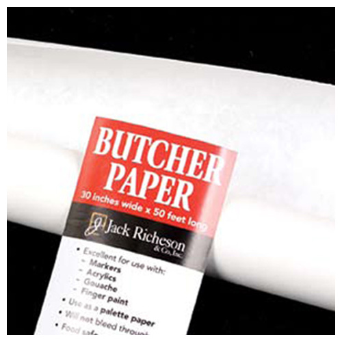 JACK RICHESON 1010448 BUTCHER PAPER WHITE 30 INCH X 50 FEET ROLL