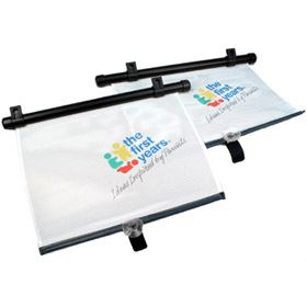 Adjust & Lock Car Shades - 2pk