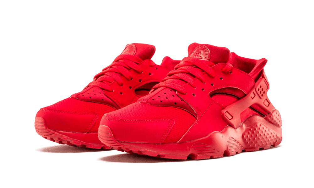 buy popular 8054a b1d2c Nike - Unisex - Huarache Run (Gs) 'Triple Red' - 654275-600 - Size 5