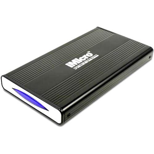 "iMicro 2.5"" USB 2.0 SATA and IDE External Drive Enclosure, Black"