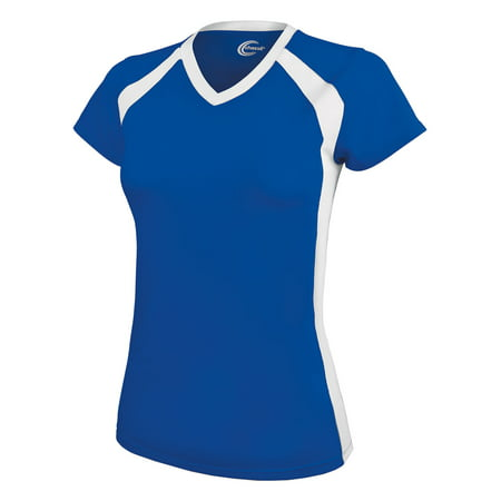 Rival Tee - Chassé Rival Cheerleading V-neck Practice Tee -