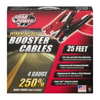 Deals on Coleman Cable 08662 Heavy-Duty Booster Cables 4-Gauge, 25-Ft