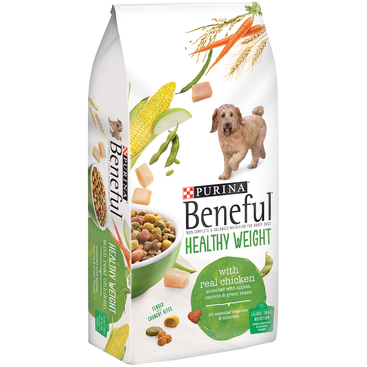 Purina Beneful Healthy Weight With Real Chicken Dog Food 31.1 lb. Bag
