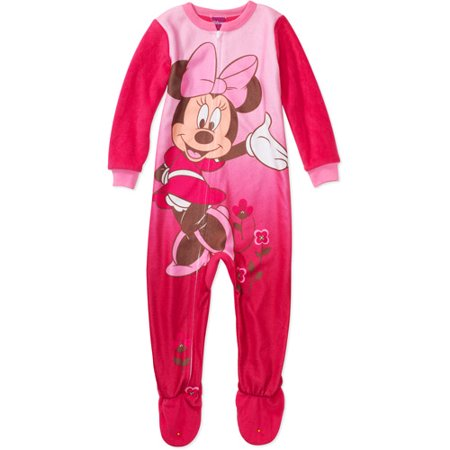 Disney - Disney - Baby Girls  Minnie Mouse Blanket Sleeper - Walmart.com bad81c659