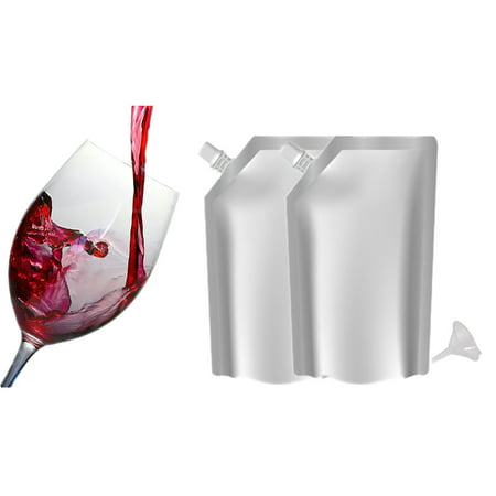 Sneak Your Alcohol Secret Hidden Flask Foil Pouch Kit  - SET OF 2 FLASKS (Liquor Punch)