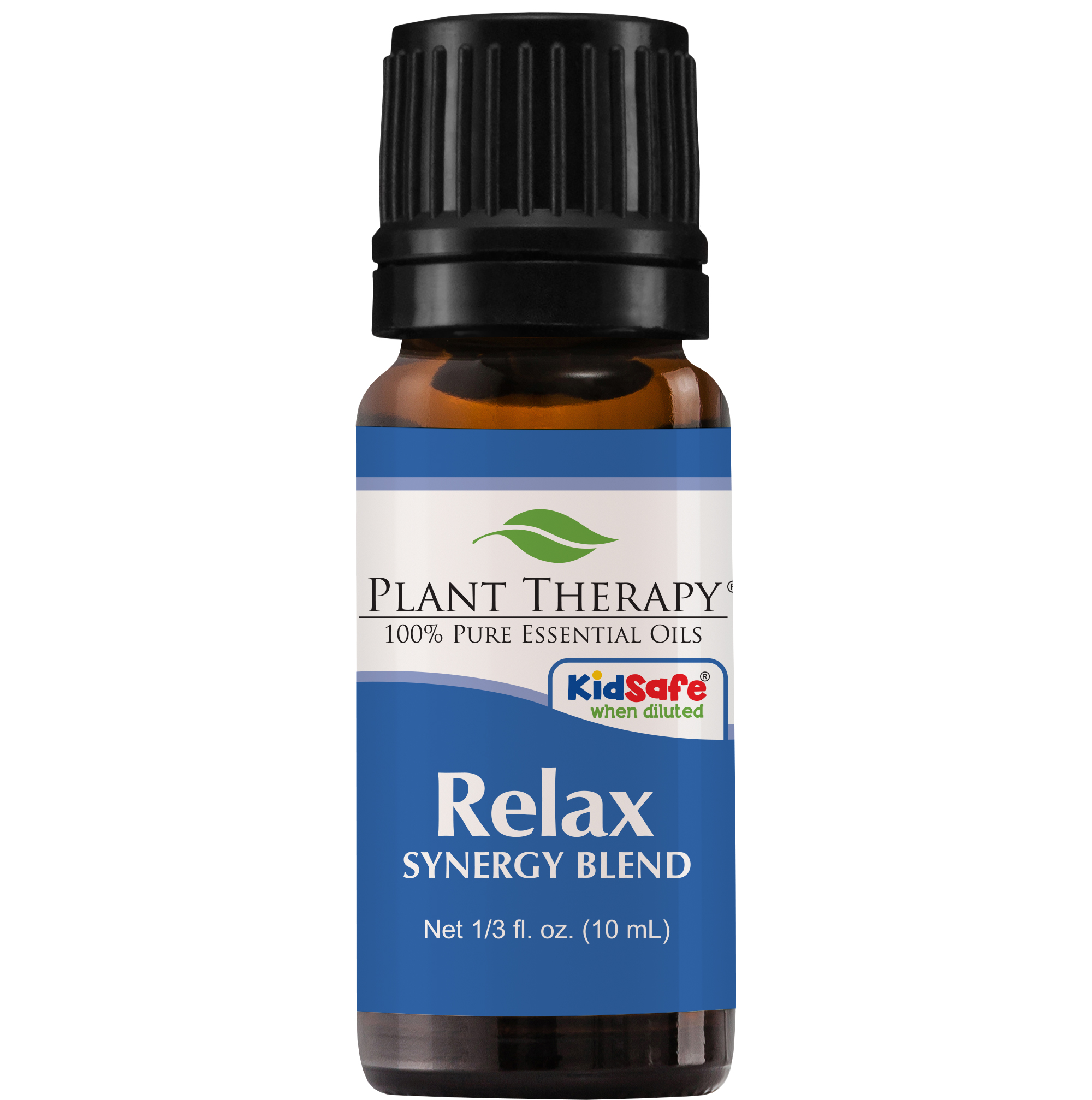 Plant Therapy Essential Oil | Relax Synergy | Sleep & Stress Blend | 100% Pure, Undiluted, Natural Aromatherapy | 10 mL