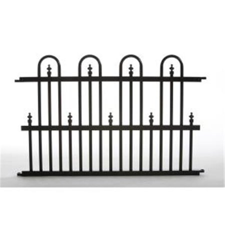 Porte de barri-re de jardin en aluminium Roxbury 24G Specrail