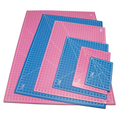 """12"""" x 18"""" PINK/BLUE Self Healing 5-Ply Double Sided ..."""