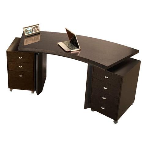Sharelle Furnishings Bali Curved Executive Desk