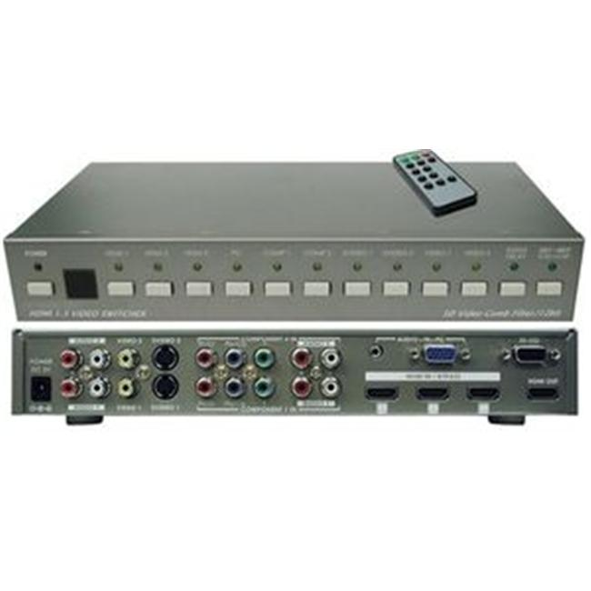 Aitech 07-033-003-12 Hd Pc Video To Hdmi Switch Input Source