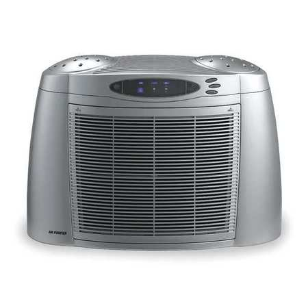 - 3 Stage with HEPA Portable Air Cleaner, Dayton, 2HPB9