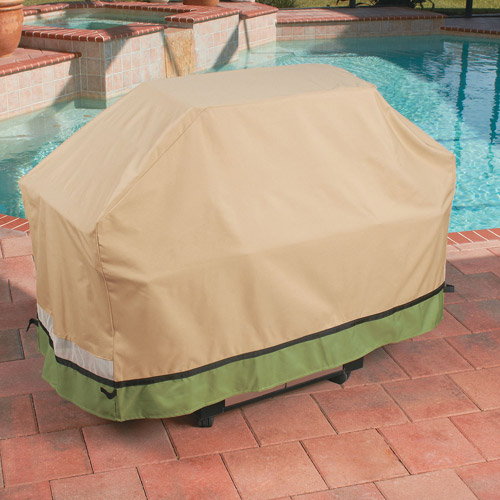 "Sure Fit 60"" Grill Cover, Taupe"