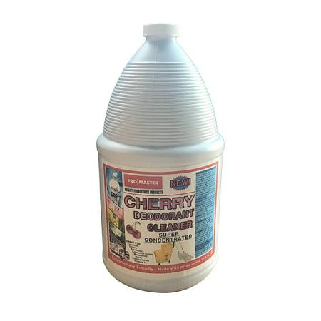 - Promaster CH, 1 Gal Cherry Deodorant Floor Cleaner, 4/CS