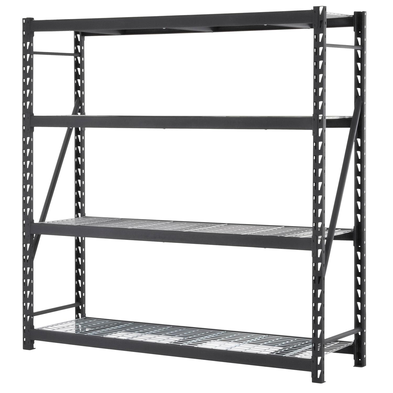 4 Shelf Welded Steel Shelving Unit