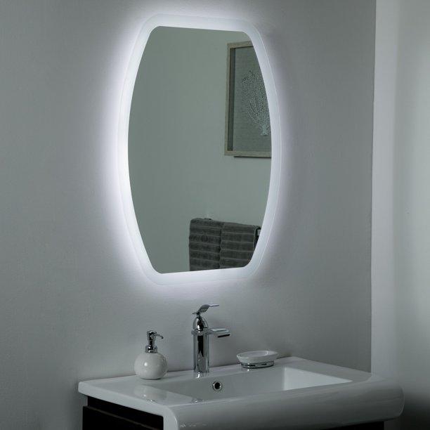 Lexy Led Bathroom Selfie Mirror 31 5x 23 6in Vanity Mirror Walmart Com Walmart Com