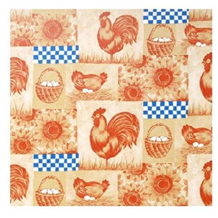 KITTRICH CORP. Shelf Liner, Adhesive, On The Farm Pattern, 18-In. x 9-Ft. ()
