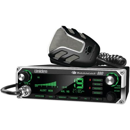880 40 Channel Bearcat 880 CB Radio-7-Color Display Backlighting by