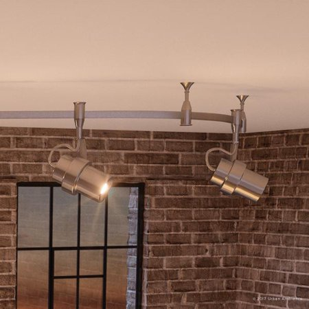 Urban Ambiance Luxury Modern Indoor Track Lighting, Large Size: 12