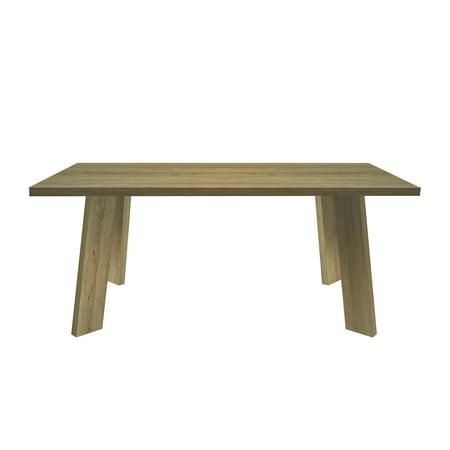 Sylvan Rectangular Modern Dark Oak Finish Indoor Dining Table