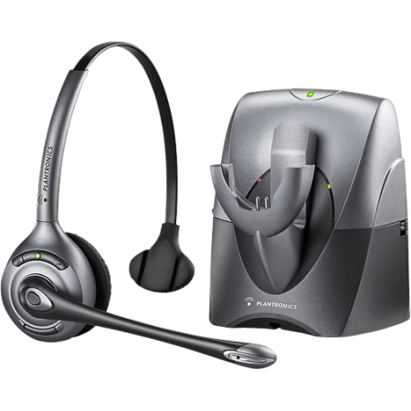 Pro Wireless Headset System - Refurbished Plantronics CS351N SupraPlus Wireless Headset System 70510-06