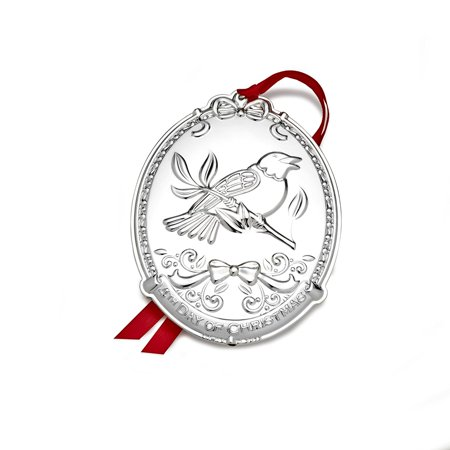 Towle Sterling Silver Cream - Silver Plated 12 Days of Christmas 4th Edition 4 Collie Birds, This silver plated ornament will add a beautiful touch of joy to a holiday package, tree.., By Towle