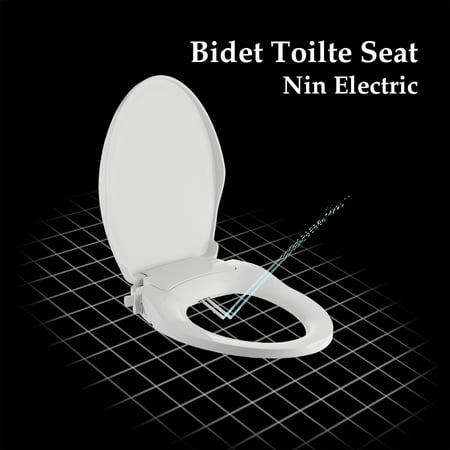 Magnificent Non Electric Elongated Toilet Bidet Seat With Cover Dual Wash Nozzles Ibusinesslaw Wood Chair Design Ideas Ibusinesslaworg