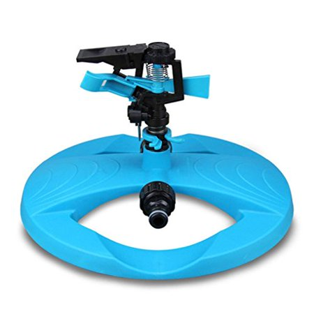 Lawn Water Sprinkler,Omaxy Automatic Garden Lawn Impulse Sprinkler 360 Degree Rotation Save Water System
