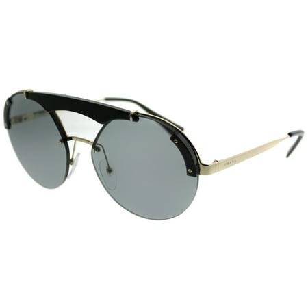 120ce6b641e5 Prada - Prada Prada Ornate PR 52US 1AB3C2 Womens Round Sunglasses -  Walmart.com