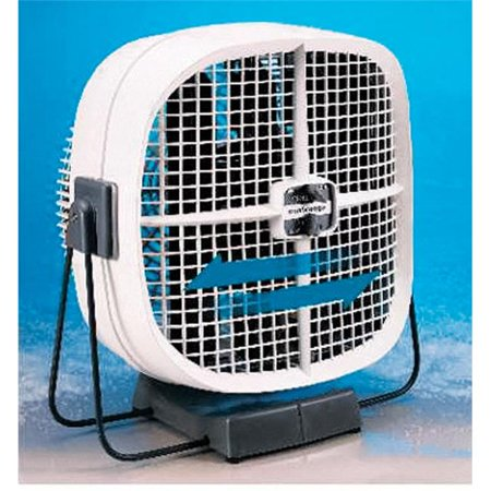 Seabreeze 6522882 10 in. 2 Speed Electric Oscillating Portable Fan