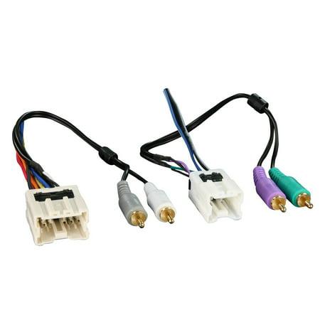 Metra 70-7551 Amplifier Integration Harness 995-2005 fits Nissan and Infiniti