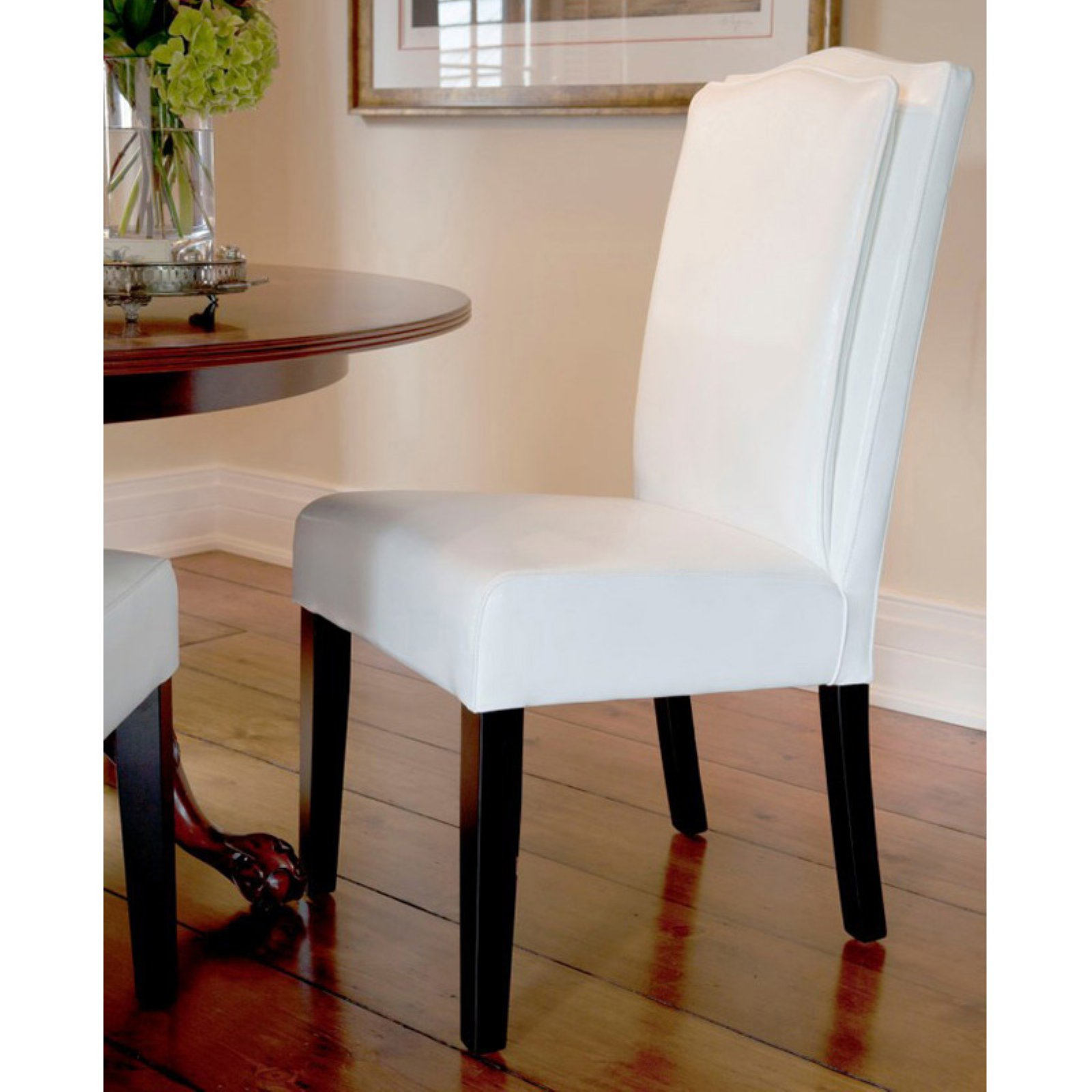 HD Couture Cambria Pillow Back Dining Chair - Set of 2