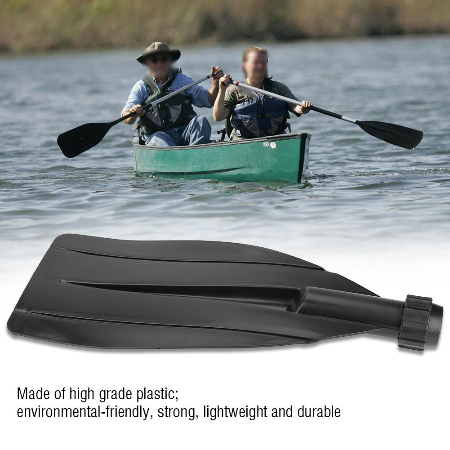 Durable PVC Paddle Blade Leaf for Kayaking Boating   Oar Paddles Hand Grip