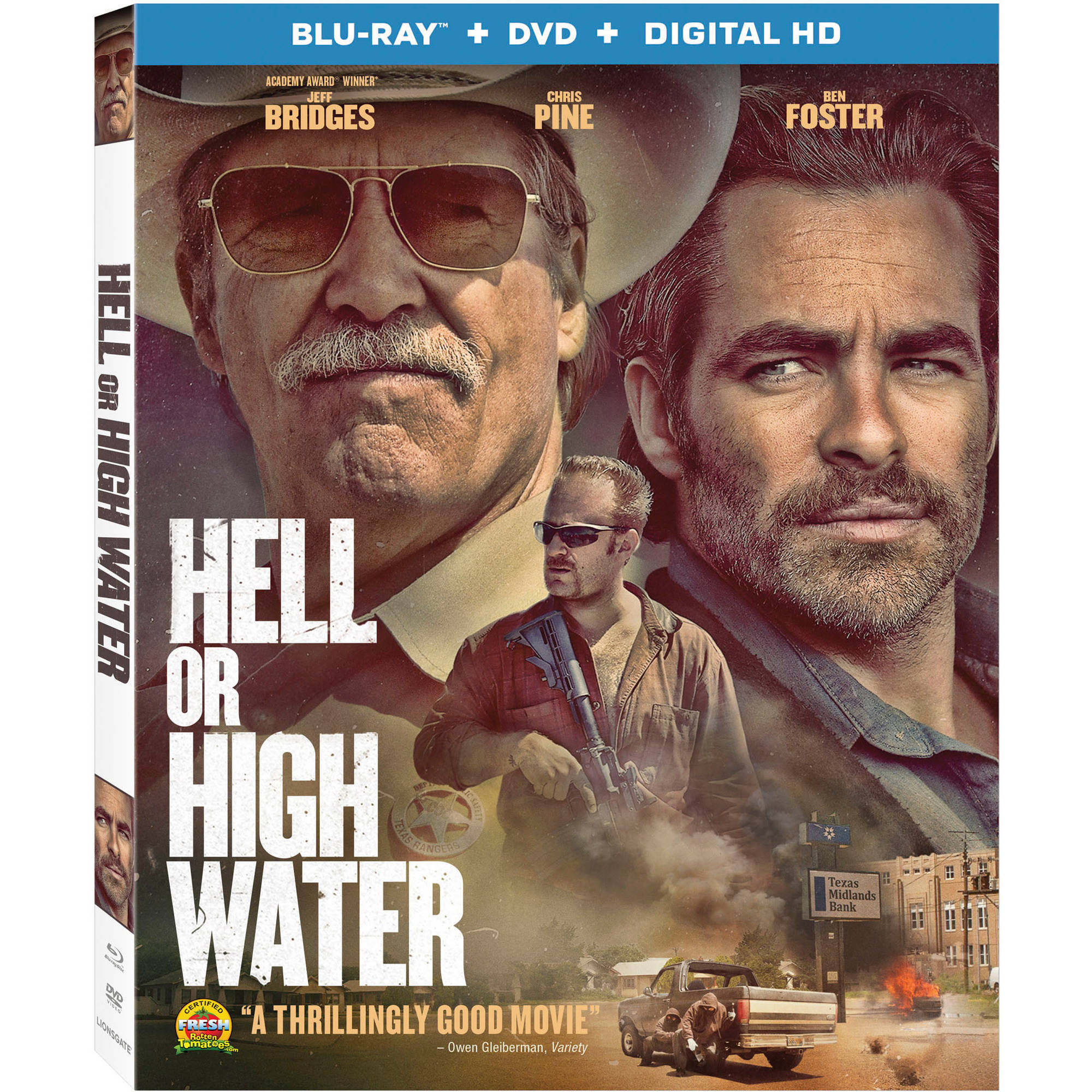 Hell Or High Water (Blu-ray   DVD   Digital HD) (with INSTAWATCH) (Widescreen)